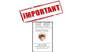 carte d immatriculation consulaire COMMUNIQUE (Carte d'immatriculation consulaire)  par voie postale